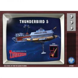 Thunderbird 5 with Thunderbird 3