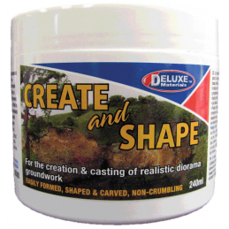 Deluxe Materials Create and Shape 240ml Pot