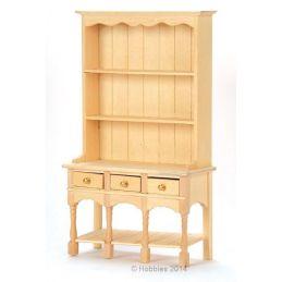 Bare Wood 3 Drawer Dresser