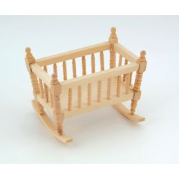 Bare Wood Crib