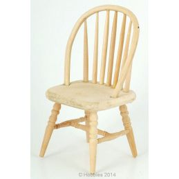 Bare Wood Chair