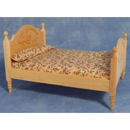 Barewood Double Bed