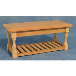 Bare Wood Kitchen Table
