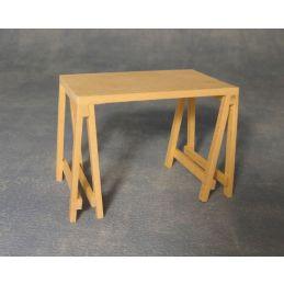 Barewood Trestle Table