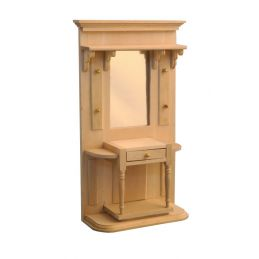 Barewood Hall Stand with Drawer