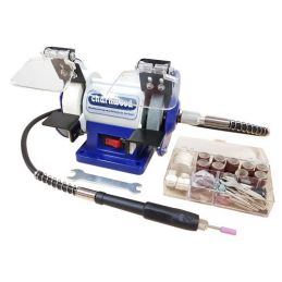 Charnwood Bench Grinder / Polisher with Flexible Drive