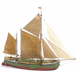 Billing Boats Will Everard Bark 1:67 Scale Model Boat Kit - Starter Paint Pack x 8 (Including 1 x stain)