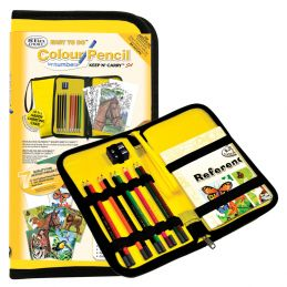 Keep and Carry Pencil by Numbers Set