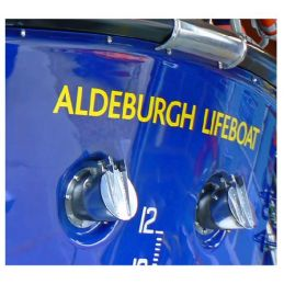 Bliss RNLI Lifeboat Yellow Stern Lettering