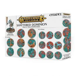 AGE OF SIGMAR SHATTERED DOMINION 25 & 32MM ROUND BASES
