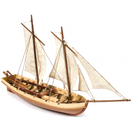 Occre Bounty Launch 1:24 Scale Wooden Model Boat Display Kit