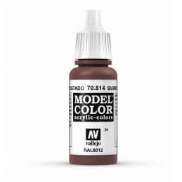 Vallejo Model Color 17ml  Burnt Cadmium Red