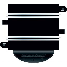 Scalextric Powerbase 2015, 175mm Curved Module, Flat Sockets