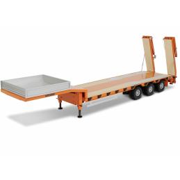 Carson Model Sport Truckline Low Loader 3 axles Trailer Kit