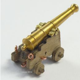 Caldercraft 18pdr Cannon Kit C1790 1:64 Scale Pack of 2