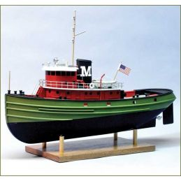 Dumas Carol Moran Harbour Tug 1 72 Scale RC Ready Model Boat Kit