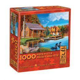 Cobble Hill Autumn Cabin 1000 Piece Jigsaw