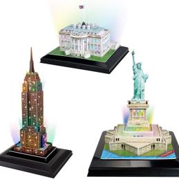 Cubic Fun USA 3D LED Puzzles Deal