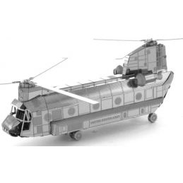 Metal Earth CH-47 Chinook Helicopter 3D Laser Cut Model