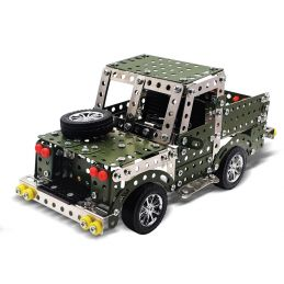 Land Rover Metal Construction Kit