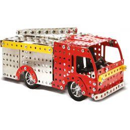 Fire Engine Metal Construction Set