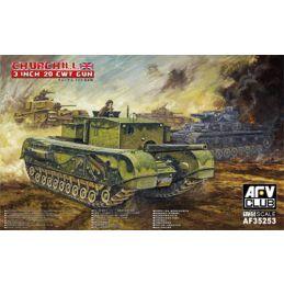 AFV Club Churchill 35th Scale British Tank Kit
