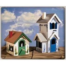 Country And Victorian Birdhouse Plans