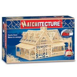 Matchitecture Country House Matchstick Kit