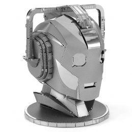 Metal Earth Cyberman Head from Doctor Who 3D Metal Model Kit