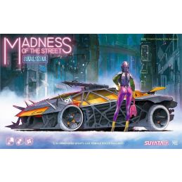 Madness of the Streets - Luna & Selena 1/32 Scale Armoured Sports Car Kit