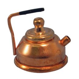 1:12th Scale Dolls House Copper Kettle