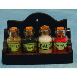 Spice Jars With Rack