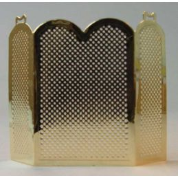 Brass Fire Screen 12th Scale for Dolls House