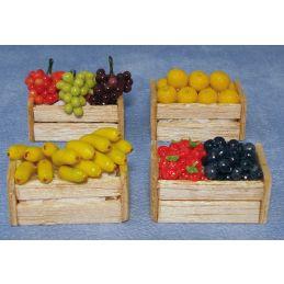 Fruit Crates x 4