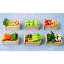 Vegetable Crates x 6