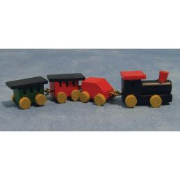 Painted Toy Train