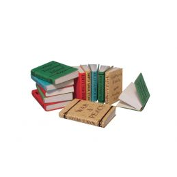 12th Scale Selection of 12 Books