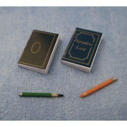 Note Pad & Pencils