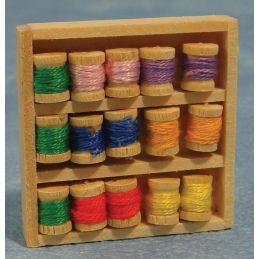 box of Cotton Threads