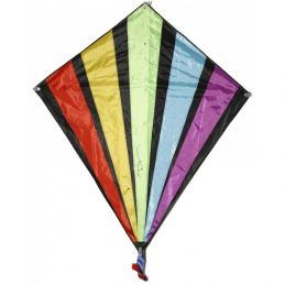 Rainbow Fan Diamond D8094