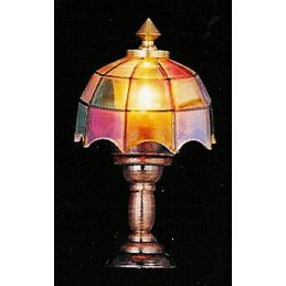 Tiffany Table Lamp for 12 Scale Dolls House