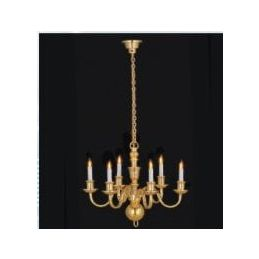 1/12th Scale Dolls House Deluxe Chandelier