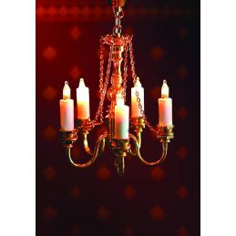 1/12th Scale Dolls House Chandelier