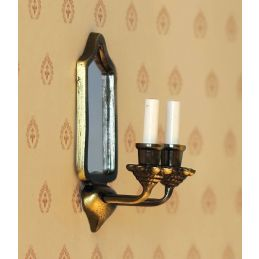 Mirror Wall Candle Sconce 12V