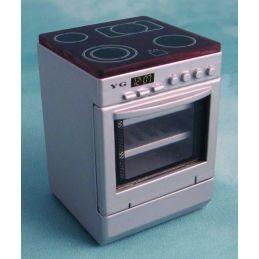 Silver Hob Cooker Unit