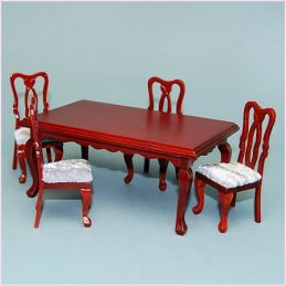 Rectangular Dining Table and Chairs