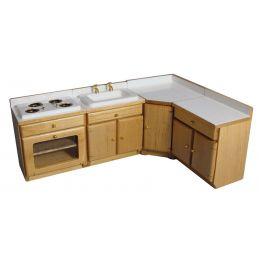 4 Piece Pine Kitchen