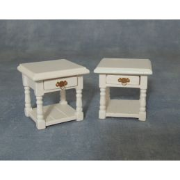 12th Scale Bedside Tables x 2