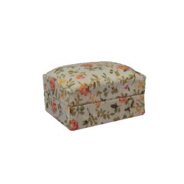 Floral Foot Stool
