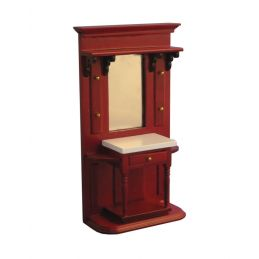 Mahogany Hall Stand with Drawer